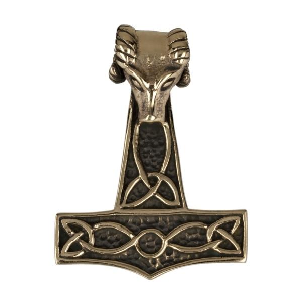 Anhänger gehörnter Thorhammer Mjölnir