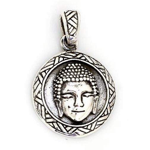 Buddha aus 925er Sterling Silber