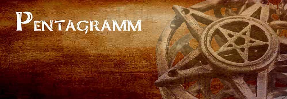 Pentagramm Schmuck Gothic und Esoterik