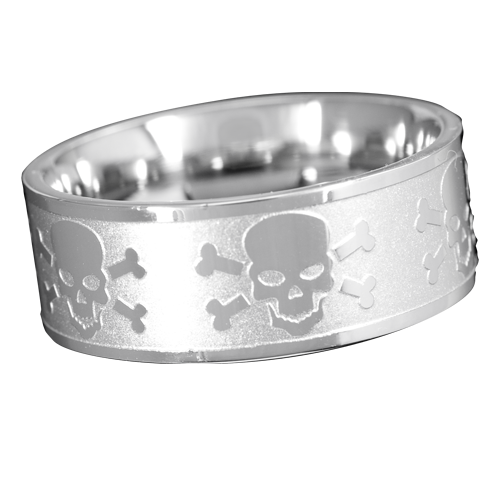 Ring Totenkopf Skull and Bones