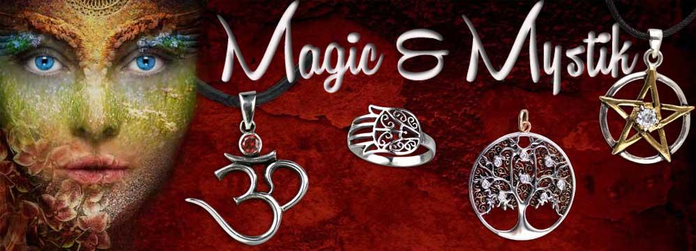 Magisch und mystischer Schmuck
