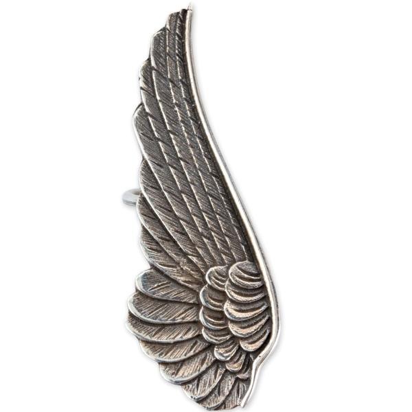 Ohrklemme Engelsflügel Angel Wing aus 925er Sterling Silber